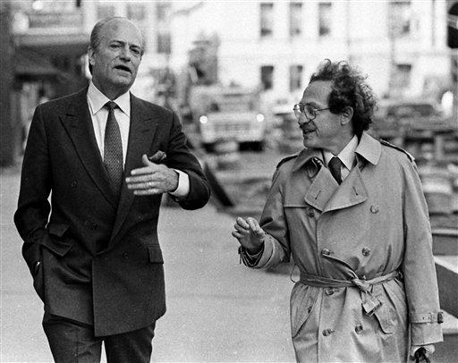 Claus von Bulow and Alan Dershowitz, 1985
