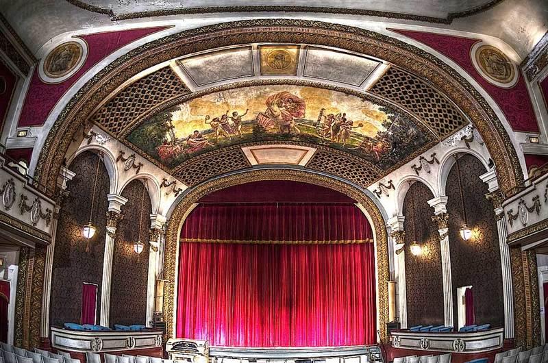 Interior of Columbus Theater