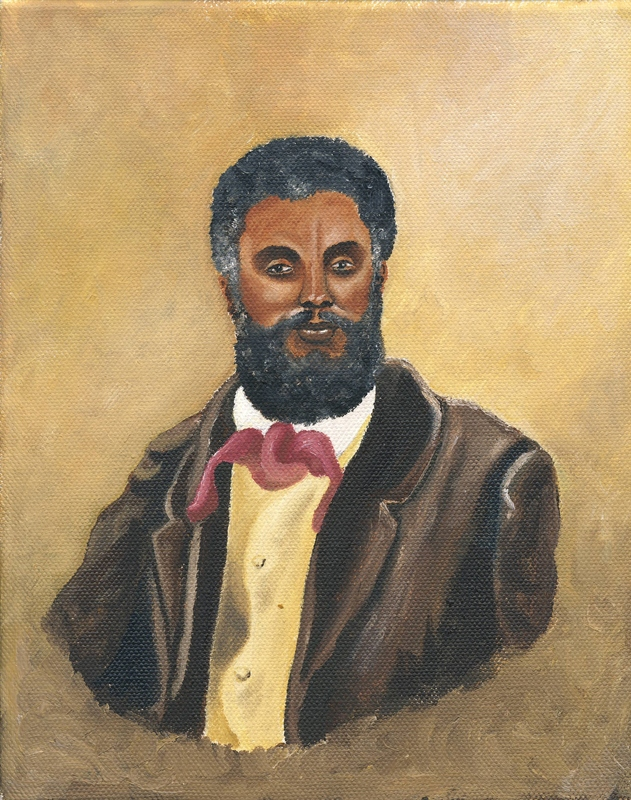 Imagined Portrait of Primus Collins<br />