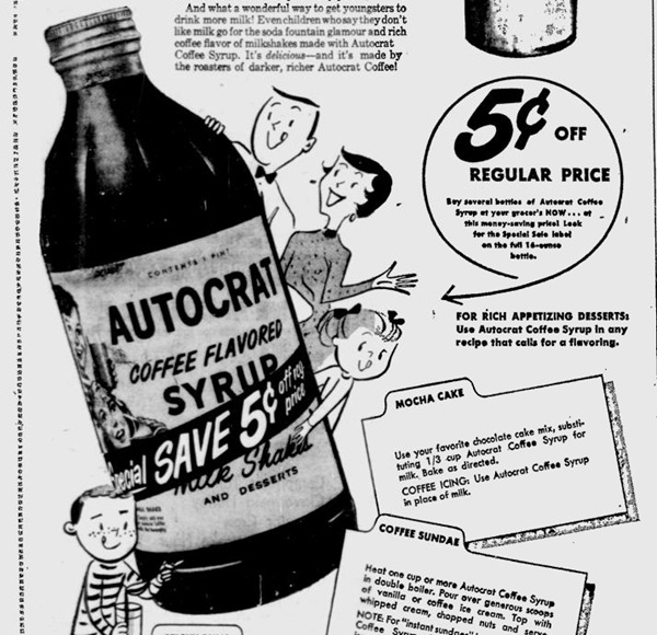 Autocrat Newspaper Ad