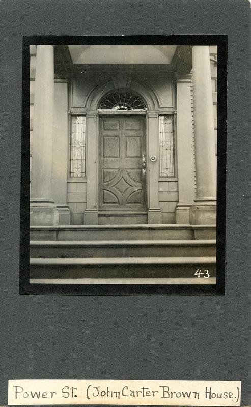 John Brown House 1920