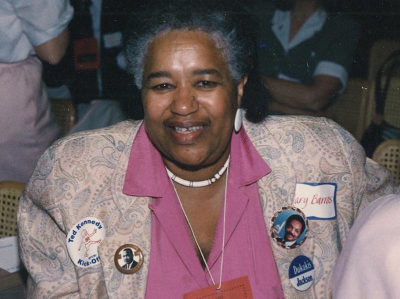 Mary Santos Barros was a Democratic Activist