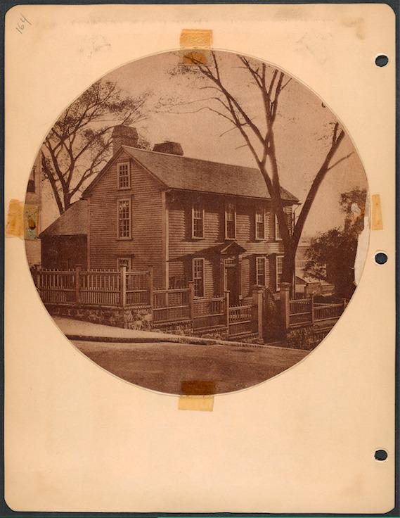 Stephen Hopkins House Cady Photograph