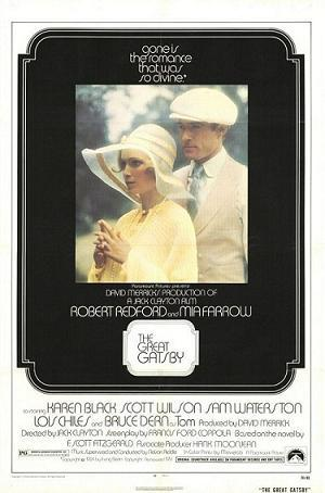 The Great Gatsby theatrical release poster, 1974