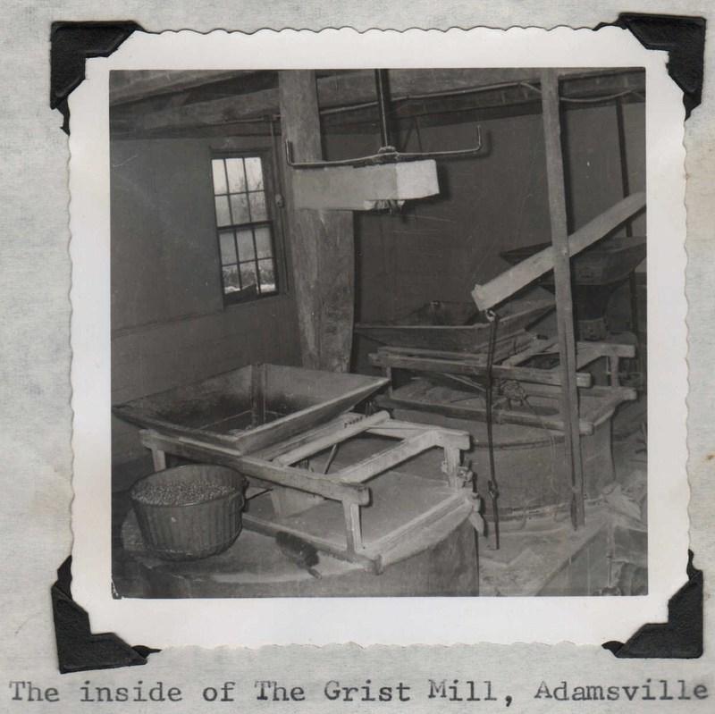 Gray&#039;s Grist Mill Interior&lt;br /&gt;<br />