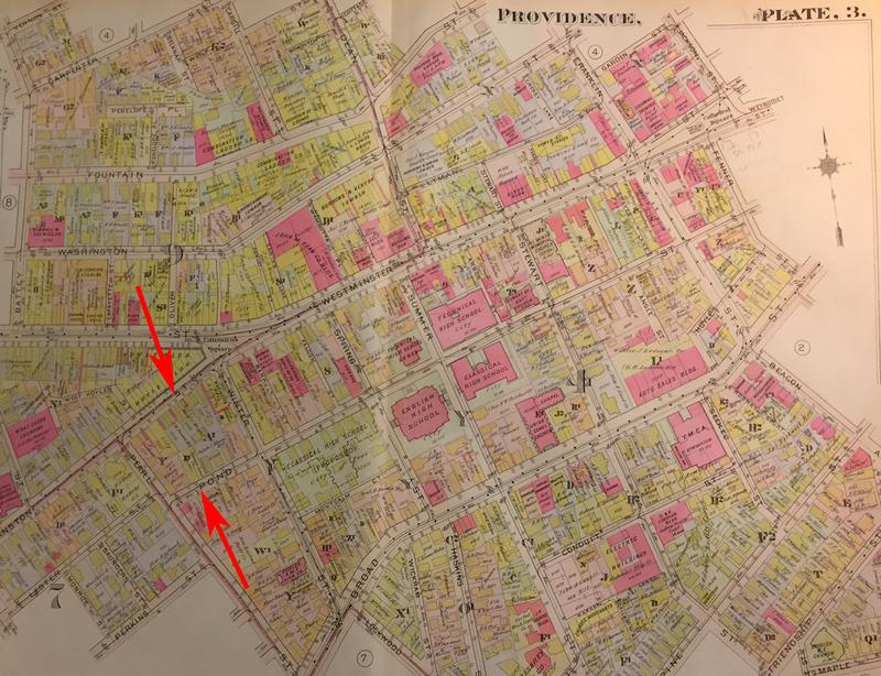 Plat Map - Pond Street Area