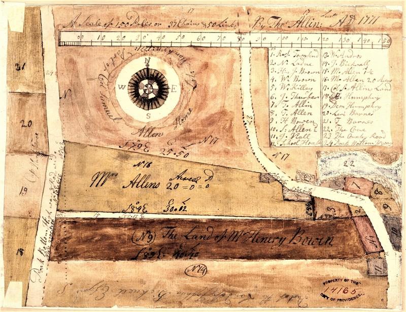 Old Barrington Village Plat Map