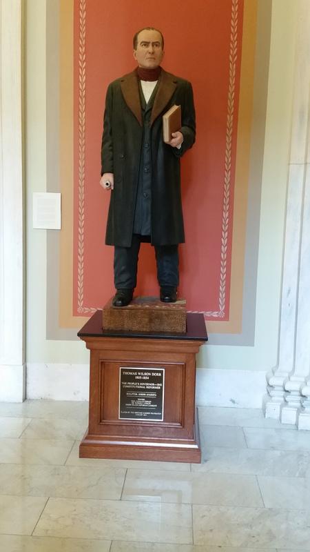Thomas Wilson Dorr Statue