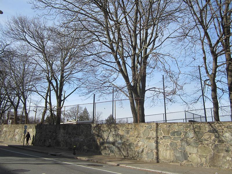 Dexter Asylum Stone Wall