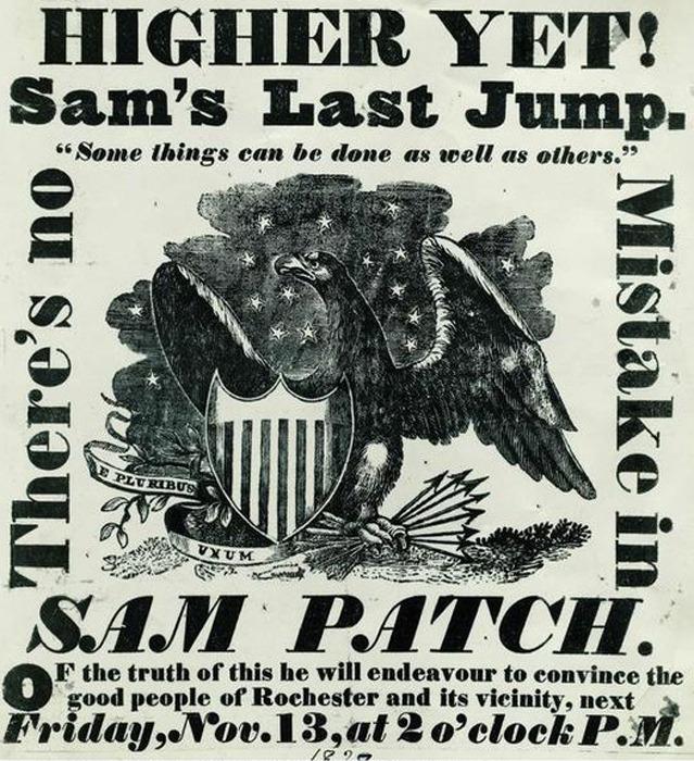 High Falls Advertisement