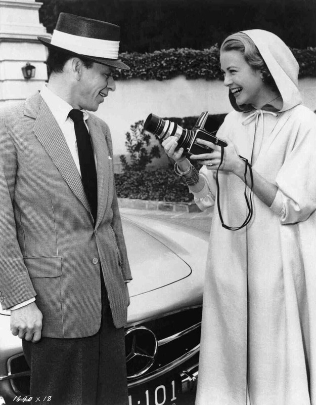 Frank Sinatra and Grace Kelly, 1956
