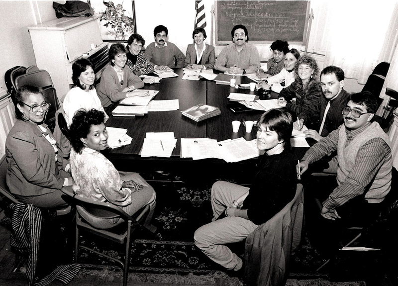 Meeting at the International Institute