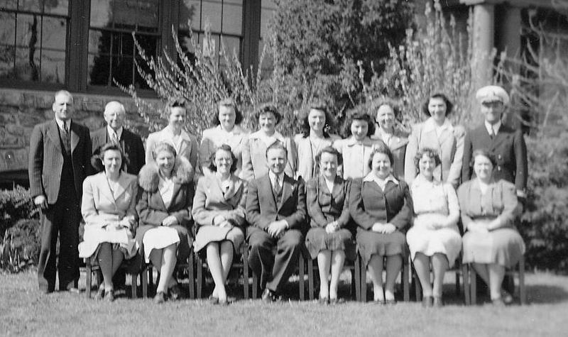 1943 Staff Photo&lt;br /&gt;<br />