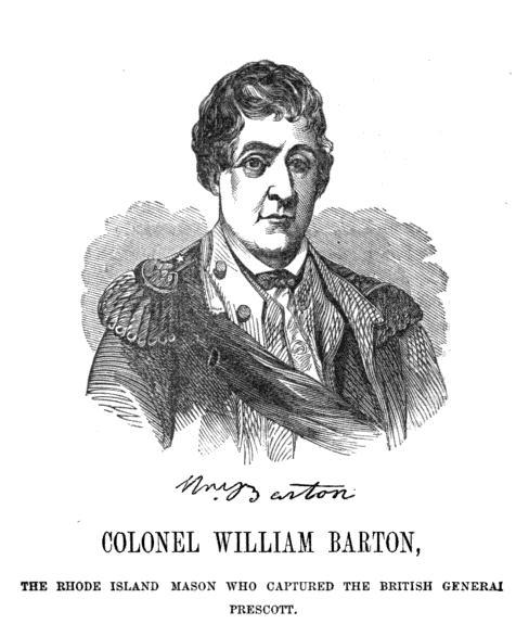 Colonel William Barton&lt;br /&gt;<br />