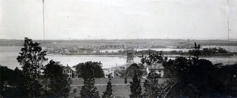 View of the Sakonnet Passage from Fort Barton