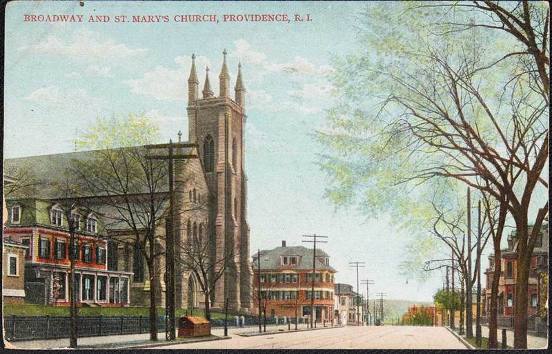 Postcard of St. Mary's
