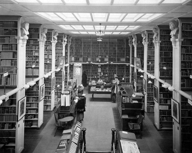 Photo: Providence Athenaeum Interor