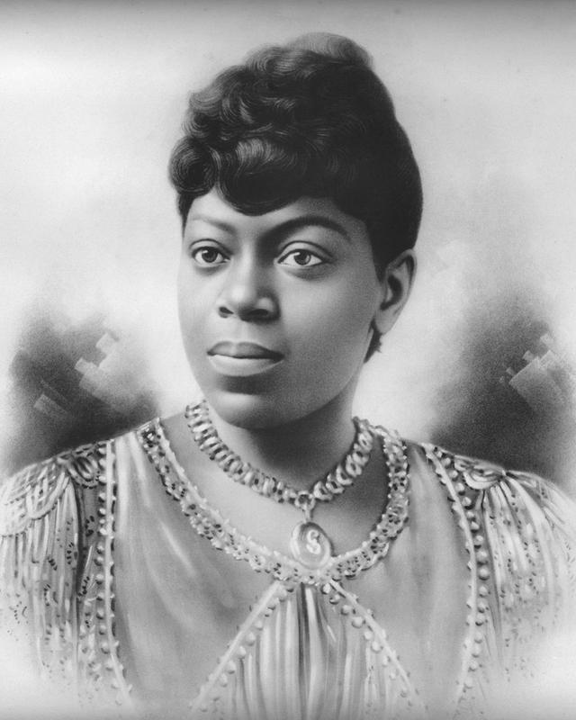 Photo: Portrait of Sissieretta Jones