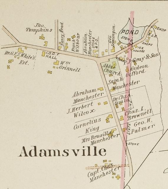 1895 Map of Adamsville&lt;br /&gt;<br />