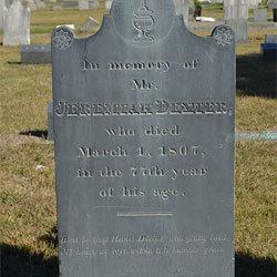 Jeremiah Dexter Gravestone