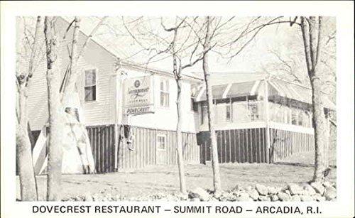 Dovecrest Restaurant Exterior Postcard