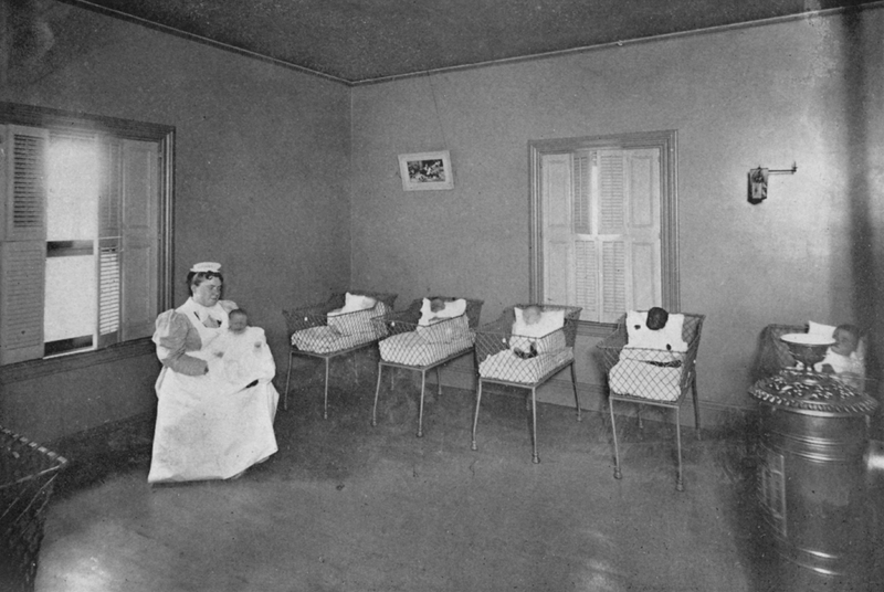Babies in the Lying In Hospital