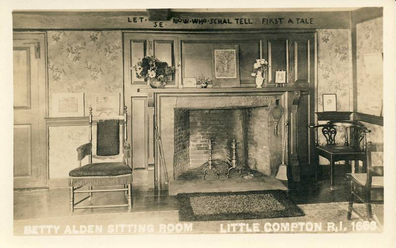 Interior View of the Betty Alden House&lt;br /&gt;<br />