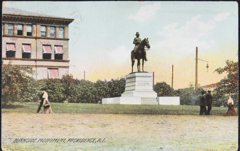 "<span id=""docs-internal-guid-3d669f14-f79b-b558-db6a-01cf2727ffc9""><span>Postcard of Burnside Statue</span></span>"