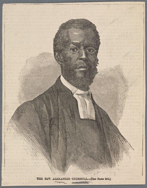 Portrait of Crummell