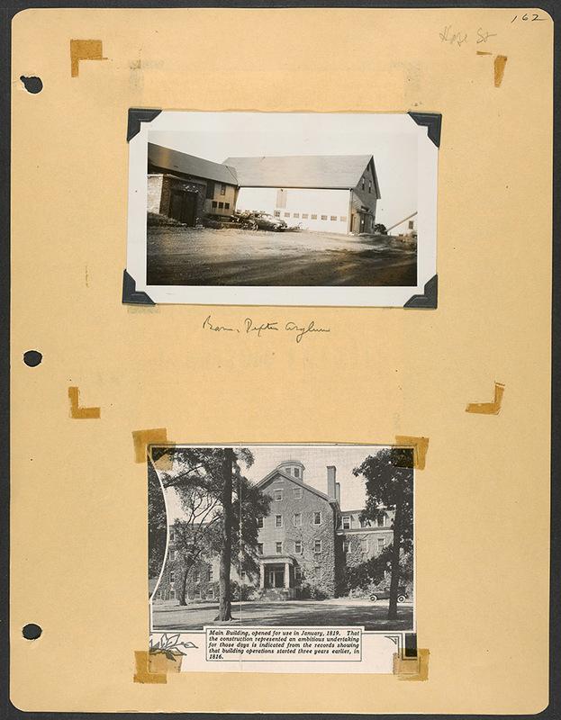 Dexter Asylum Barn and Main Building