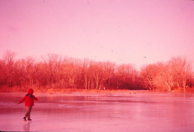 Skating on the Adamsville Pond&lt;br /&gt;<br />