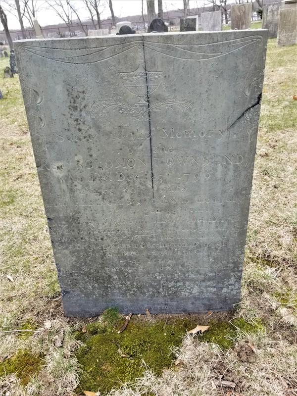Reverend Solomon Townsend Headstone