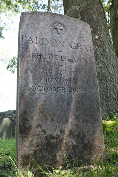 Gravestone of Pardon Gray&lt;br /&gt;<br />