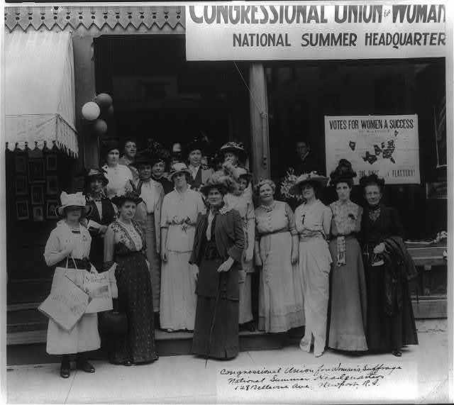 Women's Suffrage in RI
