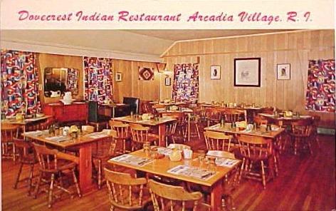 Dovecrest Restaurant Postcard