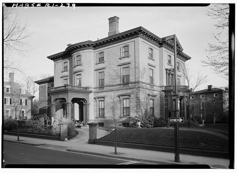 Lippitt House Exterior c. 1958