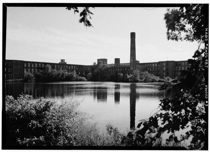 Photo: Wamsutta Mills, 1968.