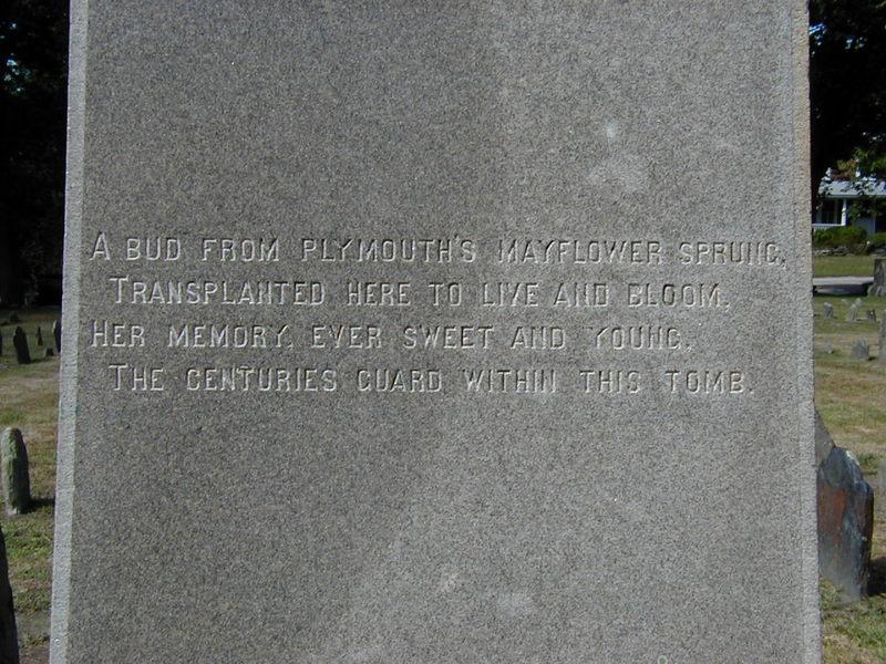 Poem Inscribed on the Pabodie Monument&lt;br /&gt;<br />