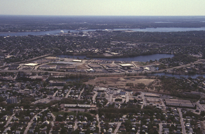 Aerial View of the Industrial Park