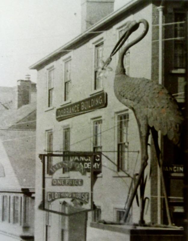 Cogswell Fountain Heron