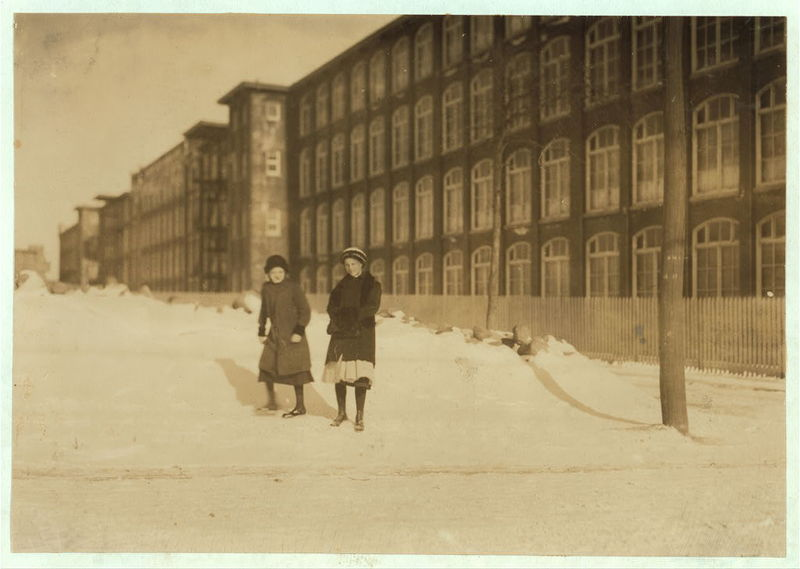 Photo: Manomet Mills, 1912