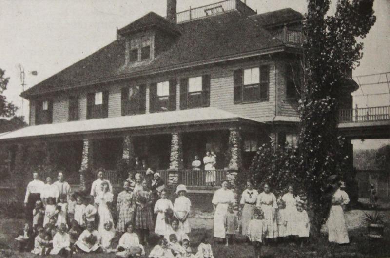 Children at the Preventorium
