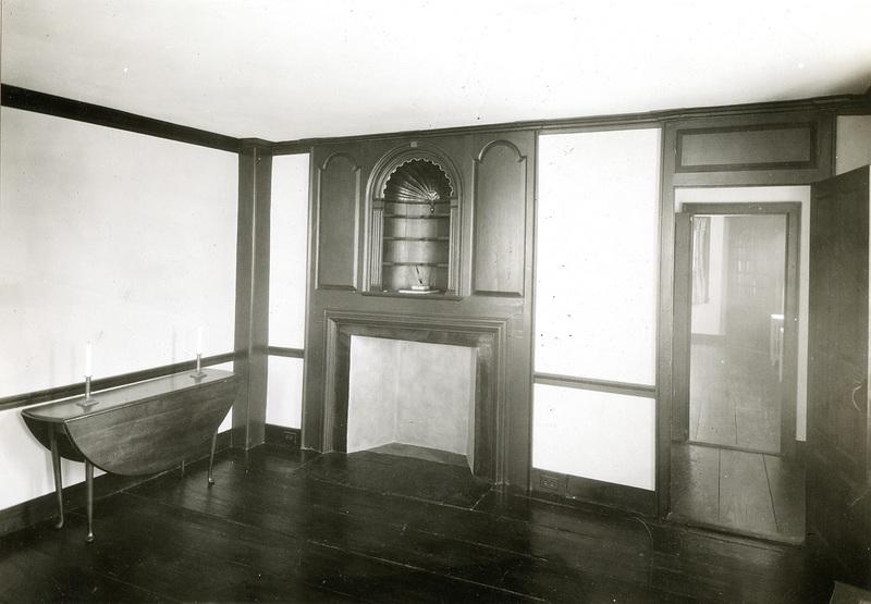 Stephen Hopkins House Interior