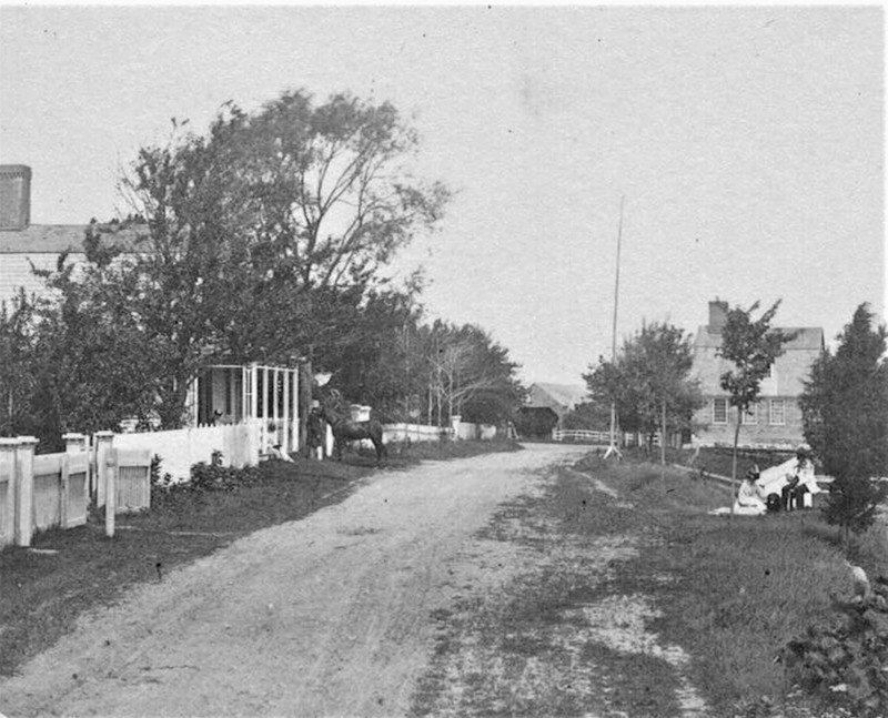 County Road by the Parsonage
