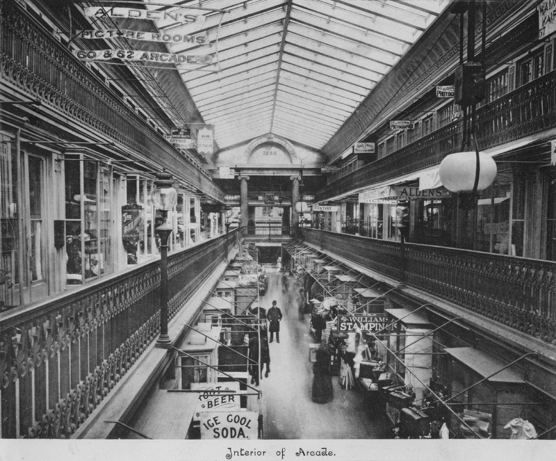 "<span id=""docs-internal-guid-eb1ff0be-f333-4dcc-979e-4d3777b35dea""><span>Interior Image of the Arcade (c. 1880)</span></span>"