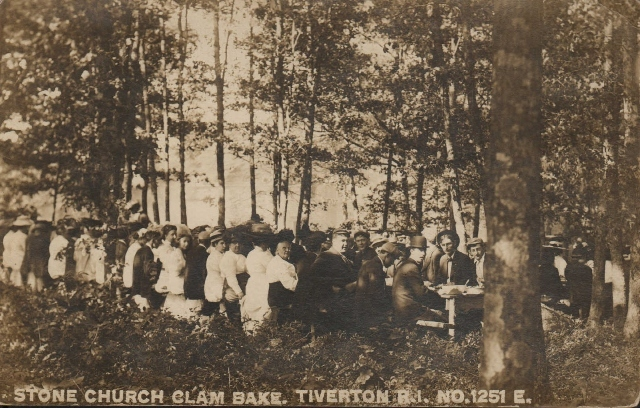 Old Stone Church Clambake Participants<br />