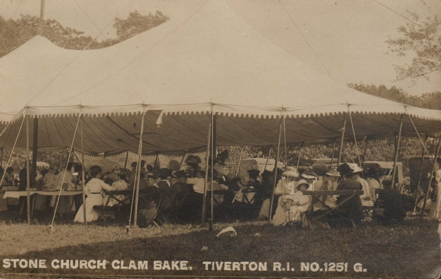 Old Stone Church Clambake Tent&lt;br /&gt;<br />