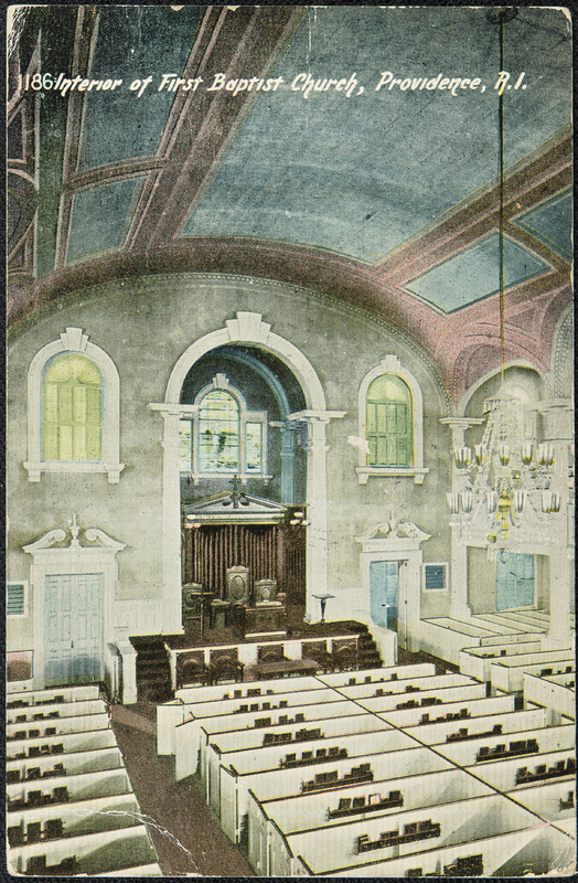 First Baptist Church Interior