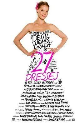 27 Dresses theatrical release poster, 2008