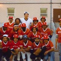 PHOTO: A 1970s Latino baseball team sponsored by Antilla's Restaurant